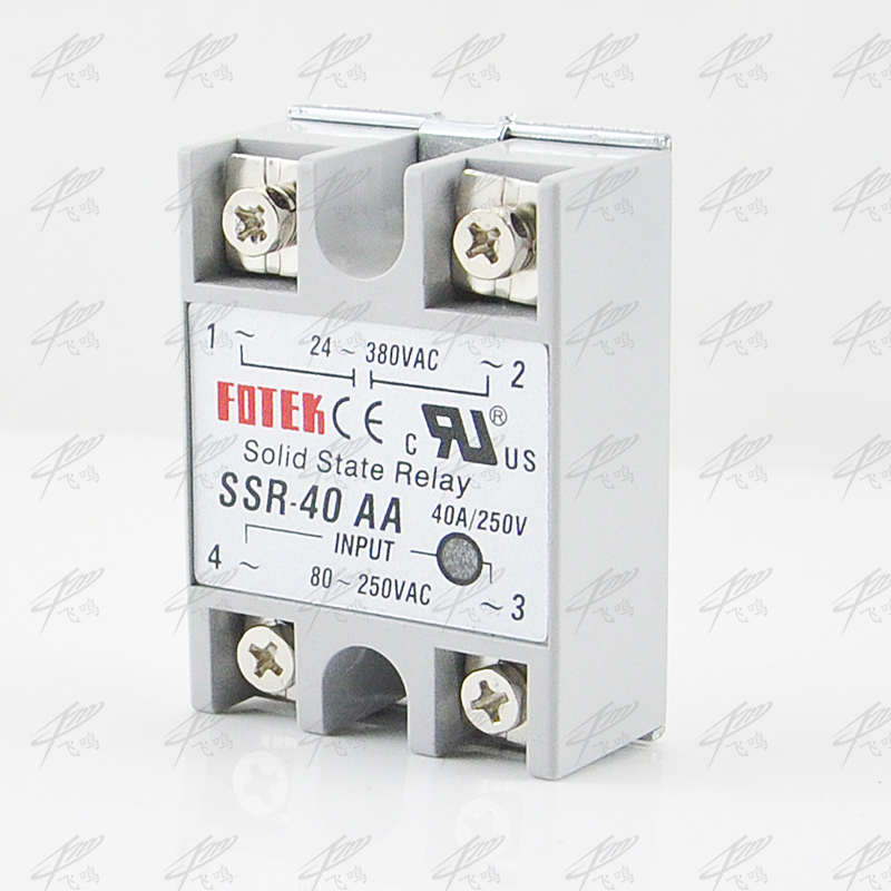 Solid State Relay SSR-40DA DC TO AC 40a SSR-40AA AC TO AC SSR-40DD DC TO DC SSR-40VA relay solid state Resistance Regulator