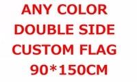 Design Custom Flag 150X90cm 3x5FT 100D Polyester All Logo Any Colors Banner Fans Sport Double Side