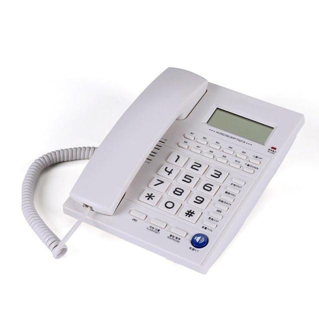 Бытовые фиксированной проводной стационарный телефон офиса стационарный АОН беспроводные телефоны для дома Бизнес hotel
