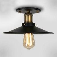 110v 220v Loft Vintage Ceiling Light Fixtures E27 One Bulbs Iron Pendant Lights Hanging Lamp Edison