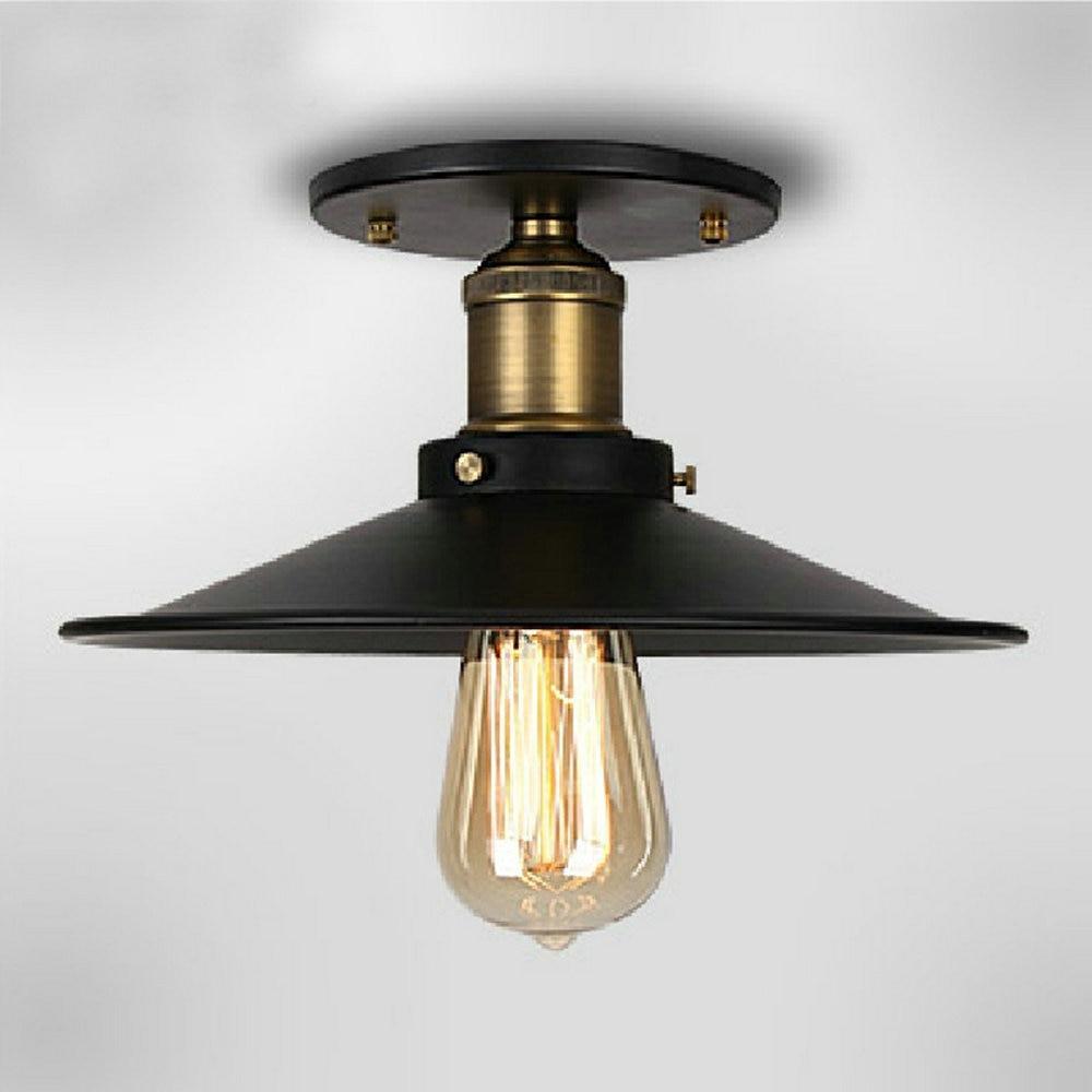 110v220v loft vintage ceiling light fixtures e27 one bulbs iron lamp edison vintage industrial