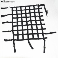 MALUOKASA 24x18 Car Window Net Nylon Racing Safety Protect Universal Equipment Net Drifting Automobile Protection Accessories
