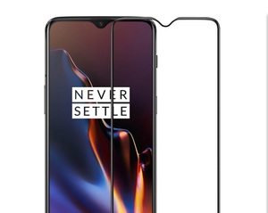 Image 2 - 100% Original oneplus 6T glass 3D 9H Full cover tempered glass official oneplus screen protector glass for one plus 6T