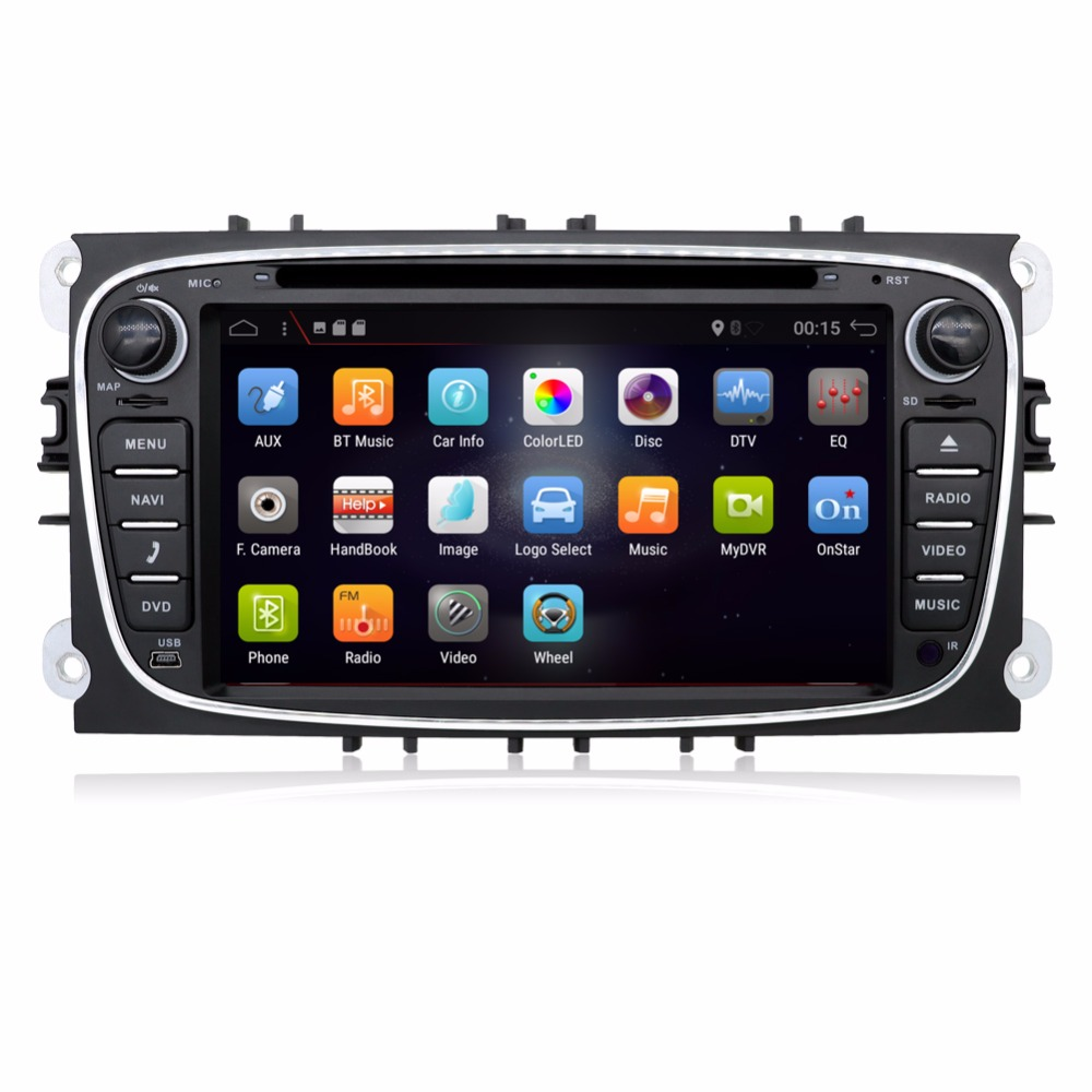 car audio Two Din 7 Inch Car DVD Player For FORD/Mondeo/S-MAX/C-MAX/Galaxy/FOCUS 2 Radio FM GPS Navigation 1080P Free Mapcar audio Two Din 7 Inch Car DVD Player For FORD/Mondeo/S-MAX/C-MAX/Galaxy/FOCUS 2 Radio FM GPS Navigation 1080P Free Map