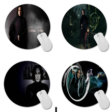 MaiYaCa Harry Potter Rogue Meilleur Durable Ronde Tapis de Souris Taille 20 cm * 20 cm