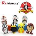 Pendrive животных 4 Г Bugs Bunny Даффи 8 Г Утка 16 Г 32 Г Ворона Лев кошка USB 2.0 Флэш-Накопитель U Диск Creativo Pendrive Memory Stick Подарок