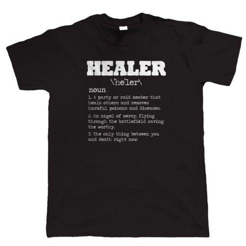 Pc T Video Mmorpg Horde Rpg Wow Shirt Gamer Game Healer dCrxeoWB