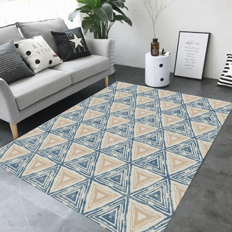 Tapis modernes minimalistes de grand secteur de style nordique pour le salon tapis de chambre à coucher de Restaurant/tapis