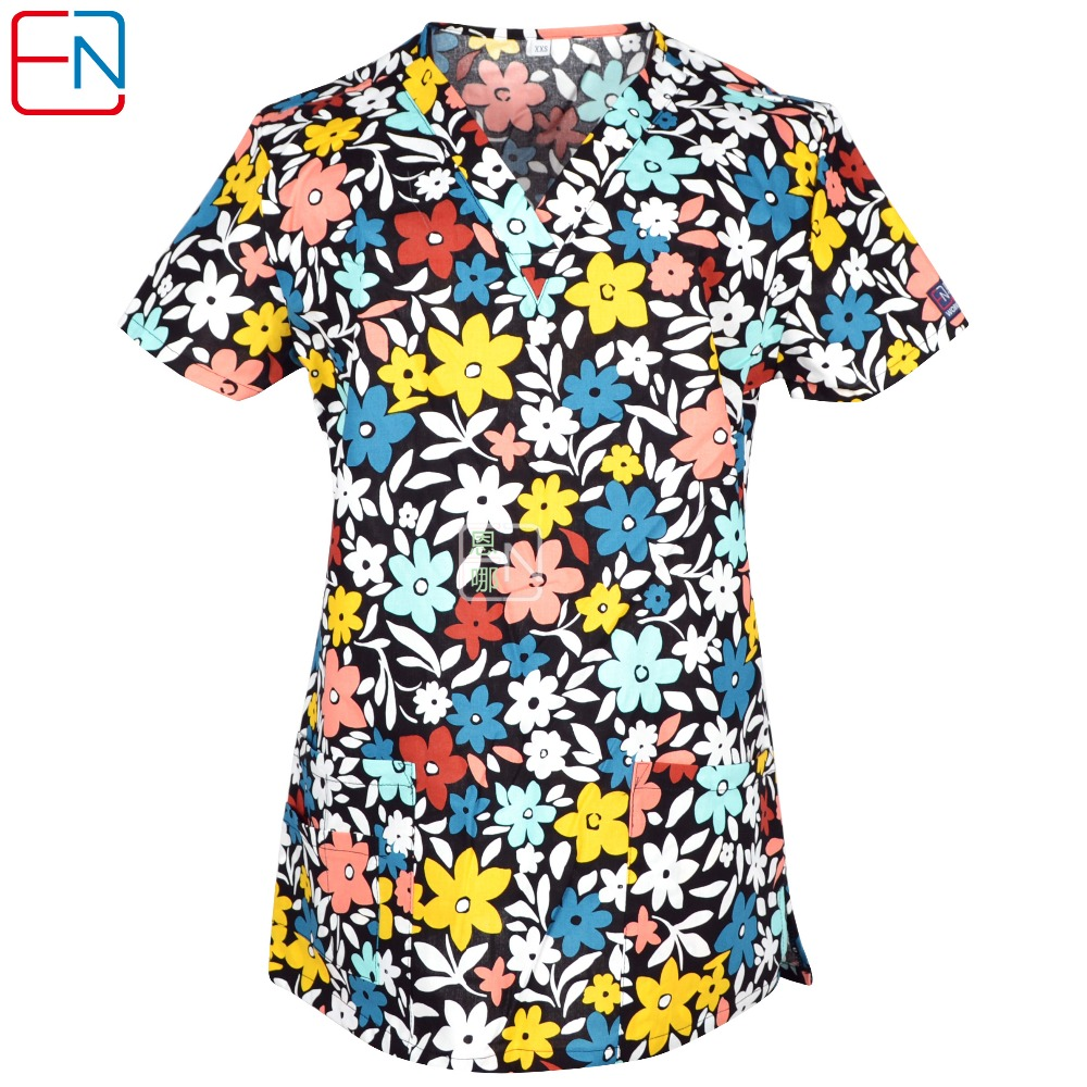 Women Scrub Top  XXXL