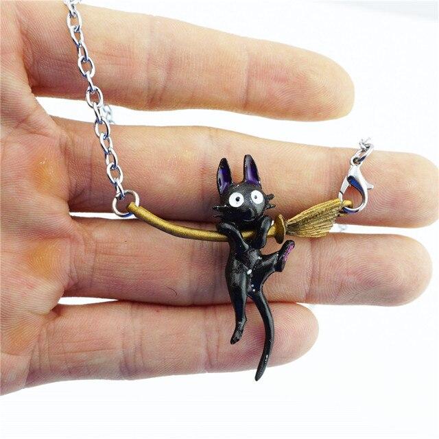 Кулон кот зизи аниме Ведьмина служба доставки 3