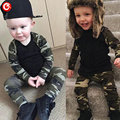 Baby Boys Army Clothing Set(Long Sleeve Tops+Pants) Newborn Infantil Girls Camouflage Design Clothes Suits Cotton Sport Outfits