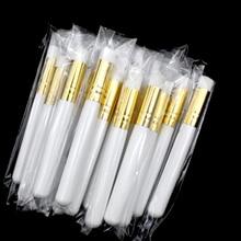 50 шт., деревянные щётки для глубокой очистки носа