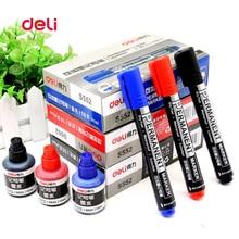 Deli sketch marker pen set logistics Supplies mark Alcohol Marker permanent cartoon graffiti copic markers ink refilling