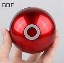 BDF Mini Portátil Bluetooth speaker LED jogo Cosplay Pokemonning Ir Pokeball Móvel bluetooth speaker Rádio MP3 USB TF com Microfone