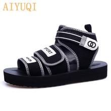 AIYUQI Women sandals flat casual 2019 new women sneakers shoes summer beach girls slippers