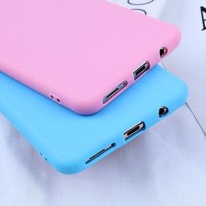 Image 2 - Dulces fundas a color para el modelo Samsung Galaxy A7 2018 caso de la cubierta del teléfono para Samsung Galaxy S10E S10 S8 S9Plus A5 A7 2017 A8 A6 Plus 2018