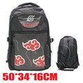 Naruto Akatsuki Cloud Symbol Messenger College Shoulder Packback Bag Anime Manga Cosplay