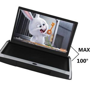 Image 2 - XST 17.3 Cal Android 8.1 Monitor samochodowy mocowanie sufitowe dach HD 1080P wideo ekran IPS WIFI/HDMI/USB/SD/FM/Bluetooth/głośnik