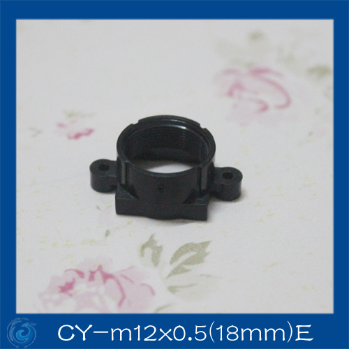 M12 lens mount ABS lens mount camera lens mount the  ABS lens holder Fixed Pitch 18MM.CY-M12x0.5(18mm)EM12 lens mount ABS lens mount camera lens mount the  ABS lens holder Fixed Pitch 18MM.CY-M12x0.5(18mm)E