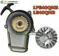 JIA Motor - 47cc/49cc 2 stroke mini dirt pocket bike engine easy pull starter metal assy with fly wheel