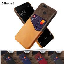 Business Case For Xiaomi Mi 5X 6X A1 A2 Mi5 Mi6 5s plus Card