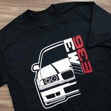 T-Shirt German Cotton Brand Man Tee Classic Car New E36 M3