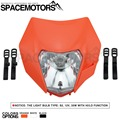 Spacemoto 2015 16 Мотоцикла Байк Мотокросс Supermoto Новый Универсальный Фара Для KTM SX EXC XCF SXF SMR Фары