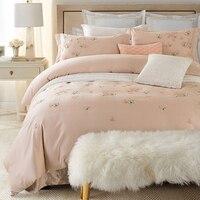 2017 Комплект постельного белья пододеяльник набор бабочка в европейском стиле домашний текстиль наволочка 4 шт. королева король кровать Раз