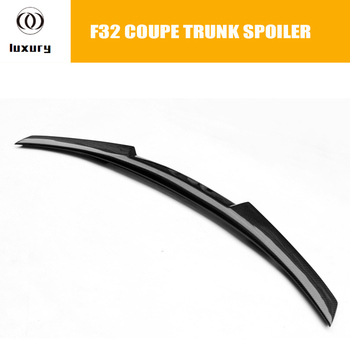 M4 Style F32 Coupe Carbon Fiber Rear Wing Spoiler for BMW F32 420i 428i 435i 2 Door 2014 2015 2016 Tail Trunk Lid Boot Lip Wing image