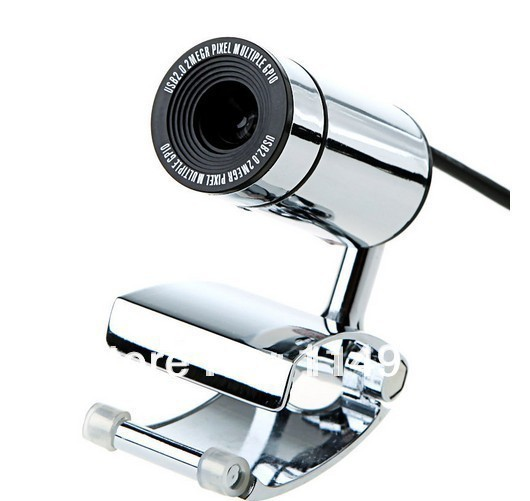 Wholesale - USB 2.0 30.0M PC Camera HD Webcam Camera Web Cam with MIC for Computer PC Laptop Free Drop Shipping