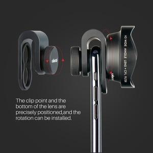 Image 5 - Ulanzi HD 4K caméra téléphone objectif 2X téléobjectif 100 grand Angle avec CPL 238 objectif Fisheye pour iphone 7/8 X HUAWEI P20 PRO xiaomi