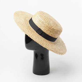 Paja sombrero mujer Koren sol sombrero 2019 vacaciones de verano en la playa  sombreros protección UV hecho a mano de calidad superior 691012 7c55ed30dc8