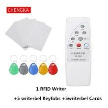 Ручной Считыватель Карт Rfid портативное устройство записи RFID 125 кГц карта Дубликатор с индикатором Дубликатор 4 частоты Rfid копировальный аппарат писатель