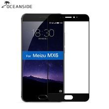 2Pcs Full Cover For MEIZU MX6 Screen Protector 9H Tempered G