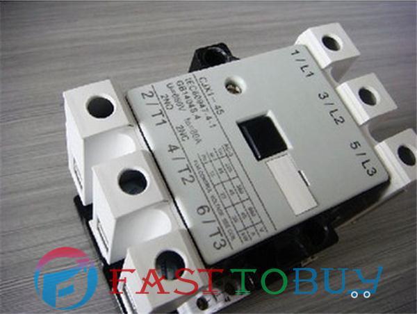 CJX1-45/22 45A 220V Delixi Contactor NEW  цены