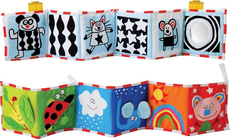 0-12 Months Newborn Crib Bed Baby Toys Soft Cloth Books Infant Colors/ Animal Early Educational Stroller Rattle Toys