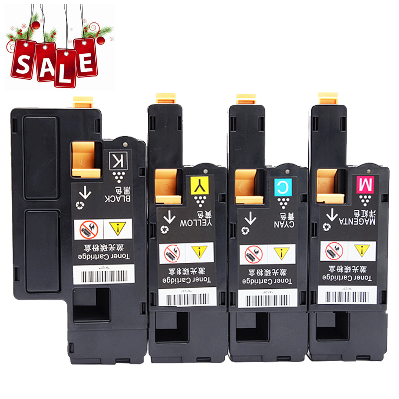 4 Compatible Black Cyan Magenta Yellow E525W Toner for Dell E525 Ink Cartridges