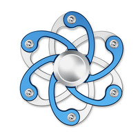 Tri Spinner Fidget Hand Spinner Camouflage Multi Color EDC Hand Spinner For Autism ADHD Rotation Long