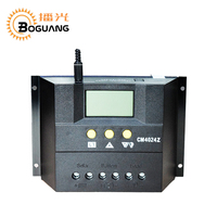 Boguang 12v 24v 60A solar controller for solar panel Solar System Auto Regulator Charger Controllers LCD Display PWM charge