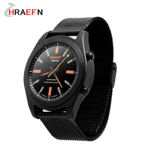Hraefn Wearable Devices 2017 S9 Bluetooth Smart Watch Heart Rate Monitor NFC relojes sport Smartwatch For Android IOS iphone