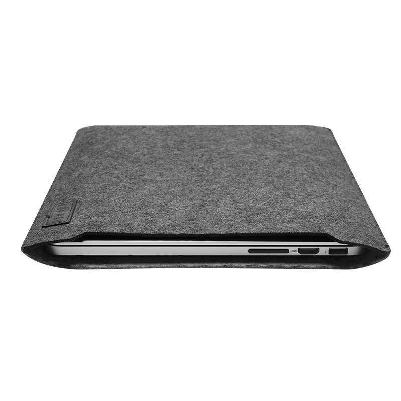 "Ультра мягкий рукав сумка для ноутбука чехол для Apple Macbook Air Pro retina 11 12 13 ноутбук Stratches Защитная крышка для Mac book 13,3 ""кожа"
