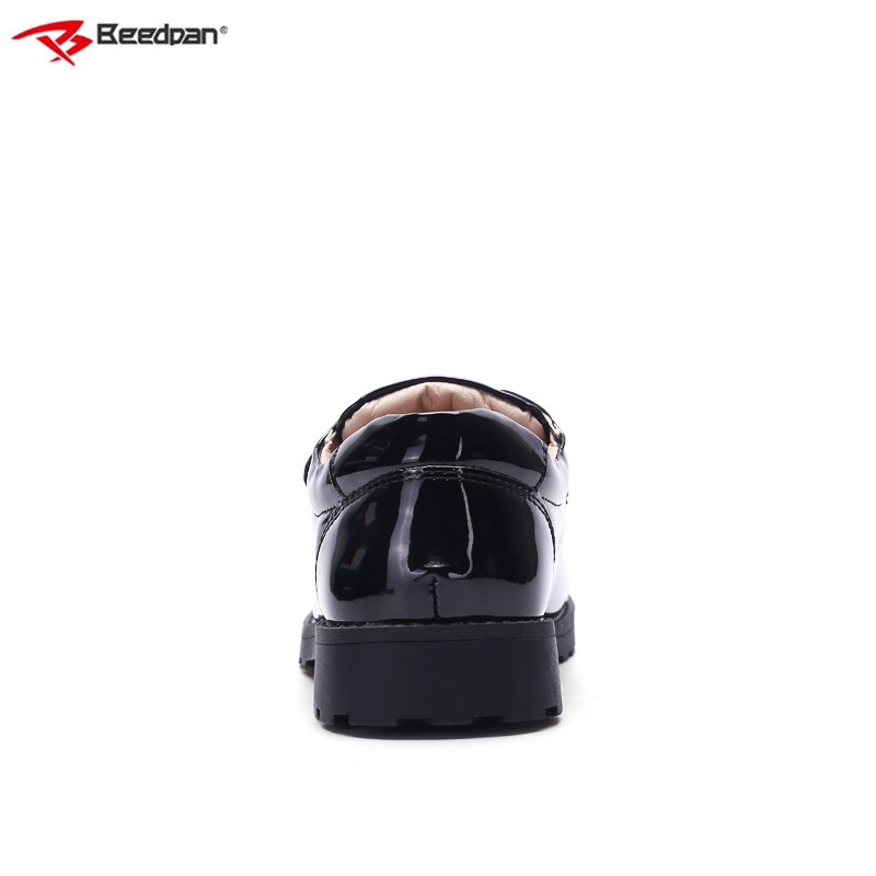7e8842d0c7e ... Shoes Boys 2018 For Toddler Boys Boys Fashion Brand Spring Leather Children  Black Wedding Shoes Beedpan ...