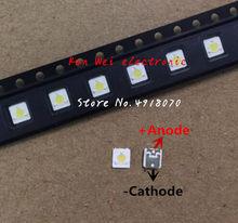 LUMENS LED Backlight 1 W 3 3535 V 3537 Cool white Backlight LCD para TV TV Aplicação A127CECEBUP8