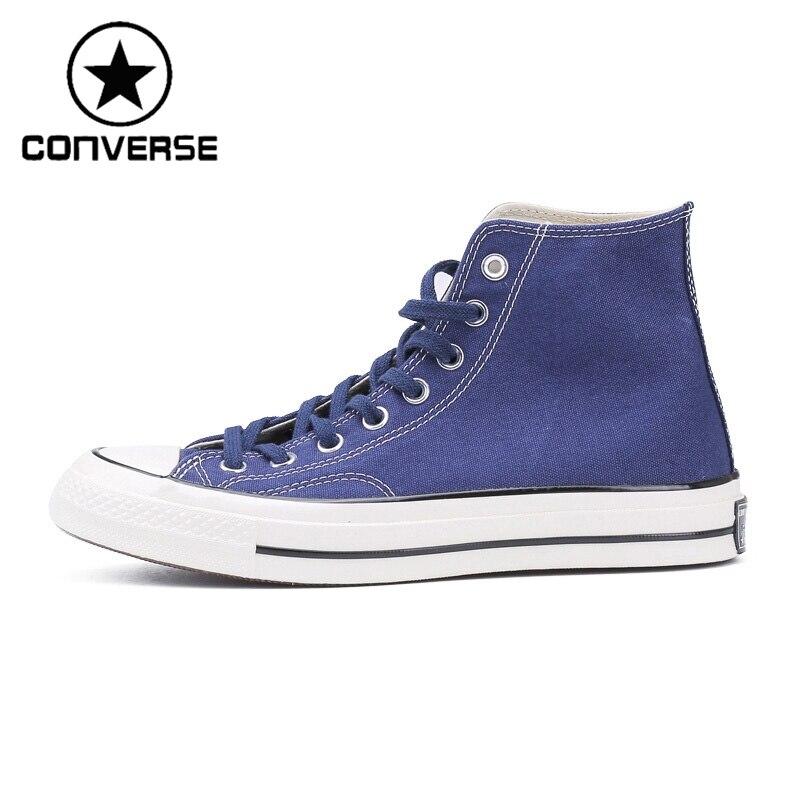 Prix pour Original Nouvelle Arrivée 2017 Converse All Star'1970S Unisexe Planche À Roulettes Chaussures Toile Sneakers