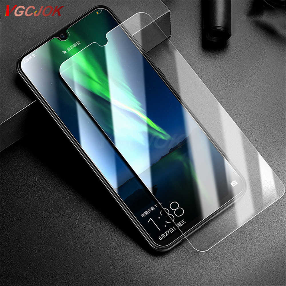 9H Protection Glass On For Huawei P30 Y6 Y7 Pro Y9 2019 Screen Protector Film For Huawei Y5 Y6 Y7 Prime 2018 Version Y7S Glass