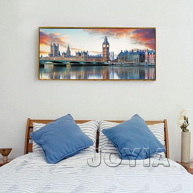 Online Shop Large City Canvas Prints Wall Art London Architecture Cool Bedroom Suites Online Painting