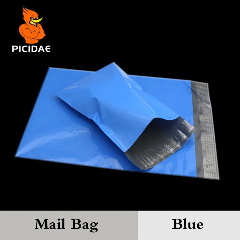 100 copë Posta plastike qese Premium Cilësi polifonash Postim - Magazinimi dhe organizimi në shtëpi - Foto 2