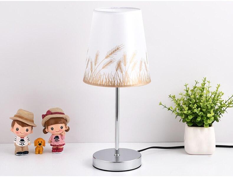 Candeeiros de mesa cristal conduziu a lâmpada