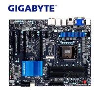 LGA 1155 для Intel DDR3 гигабайт GA Z77X UD3H материнской USB3.0 32 г Z77X UD3H SATA III 32 г настольных плата Z77 Z77X UD3H используется