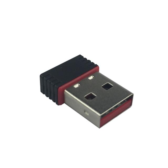 Heißer Verkauf 2,4 Ghz Wireless Wifi Dongle 150 Mbps USB 2.0 Netzwerk NANO karte Adapter für Raspberry Pi 3 2 STÜCK für Orange Pi